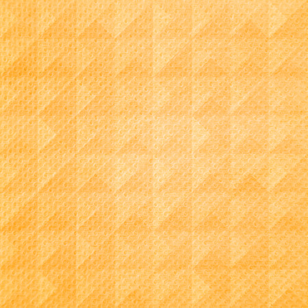 Orange triangle pattern tissue for background  Stock Photo