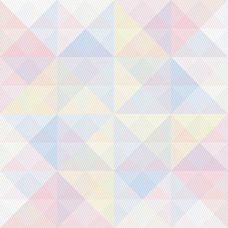 pastel colors: Colorful triangle and lines pattern for background