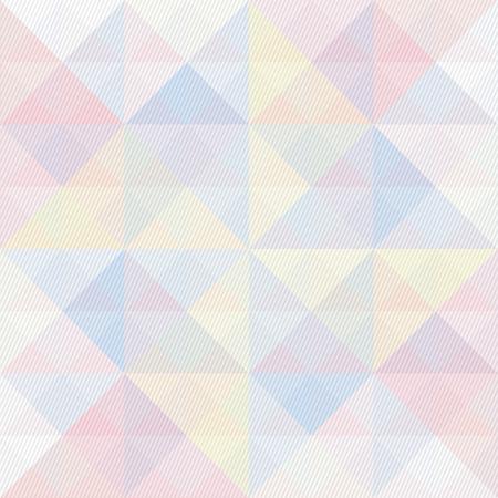 Motif de triangle et lignes coloré pour le fond