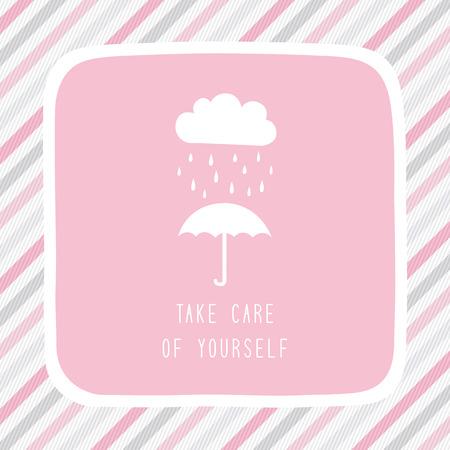 the rainy season: Take care of yourself in rainy season.