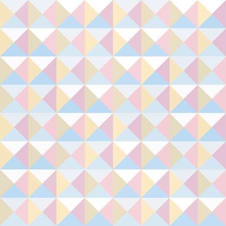 Colorful triangle pattern for background and backdrop.