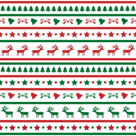 Seamless Christmas pattern for background.