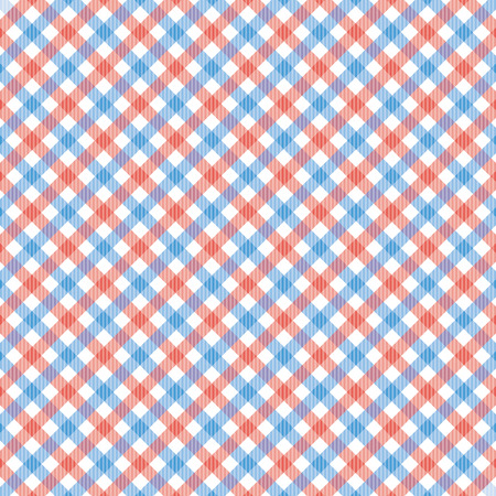 red plaid: Red and blue plaid pattern for background.