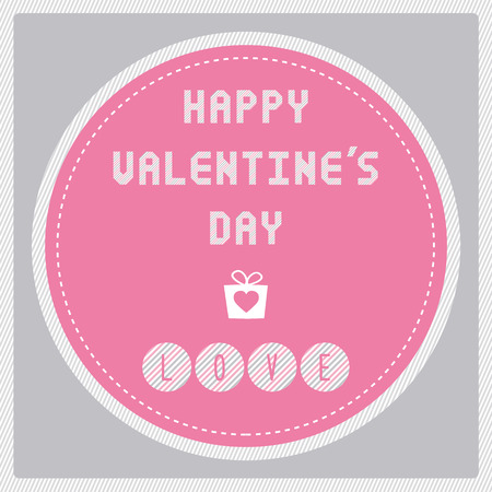 happy valentine s day: Card for happy valentine s day.