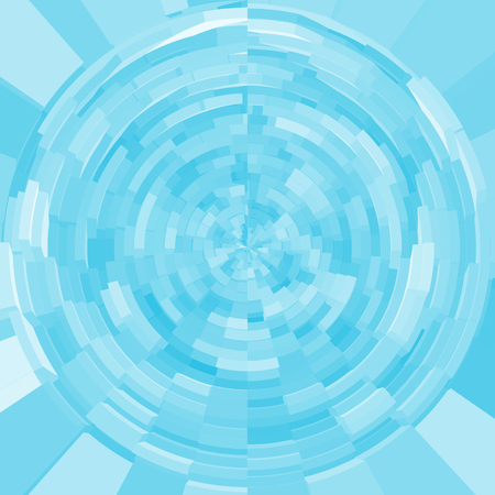 blue sphere: Blue sphere pattern for background