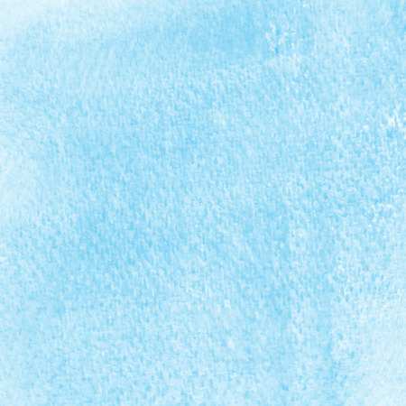 spat: Abstract blue watercolor on white background. Stock Photo