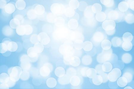 blue light background: Blue bokeh light for background.
