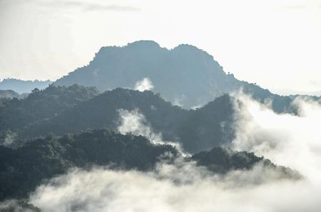 phu: Landscape view at Phu Lang Ka, Phayao, Thailand.