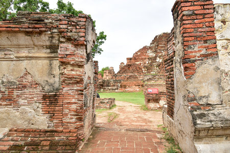 Wat Mahathat (Temple of the great relics), Ayutthaya, Thailand.
