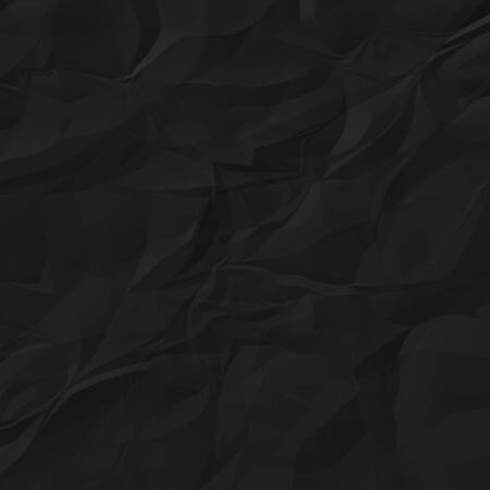 Black crumpled paper for background.