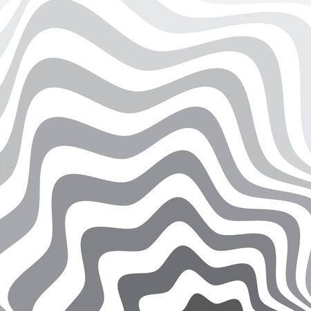 Gray and white optical art background. Иллюстрация