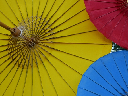 Traditional Colorful Umbrella, Thailand