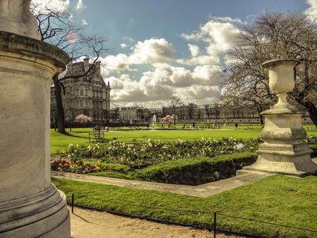 louvre: Louvre Palace Park.