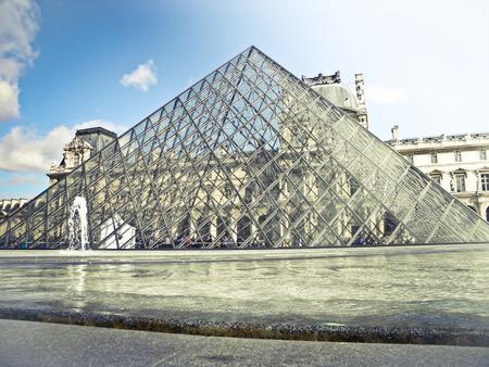 louvre: Louvre Palace Main entrance.