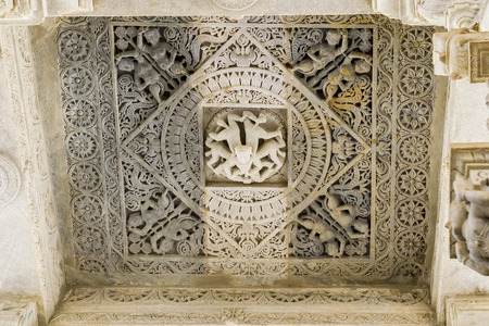 cravings: White Marble Carvings at Ranakpur Jain Temple, Rajasthan, India