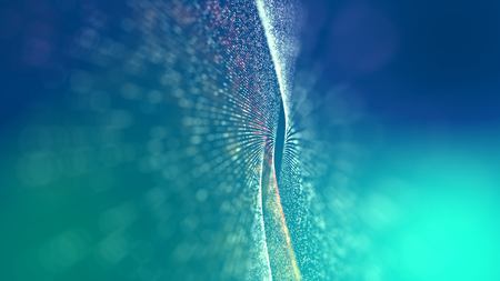 Abstract Futuristic Theme Background