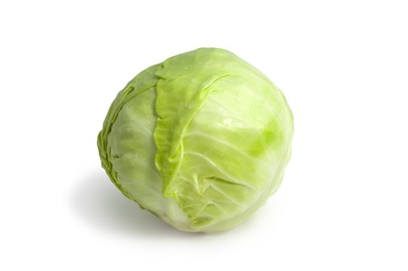 head of green cabbage Stock Photo - 7670074