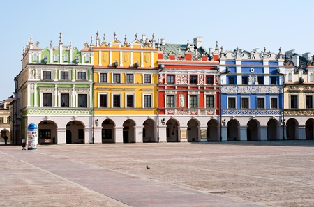 Old Historic architecture of poland
