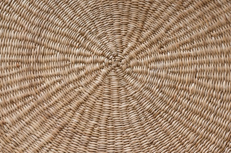 pleat: traditional pleat of straw