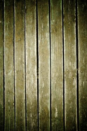 wood fence: vintage fence color green background