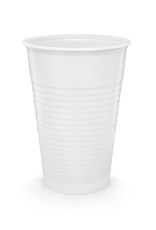 a white plastic cup was added path photo