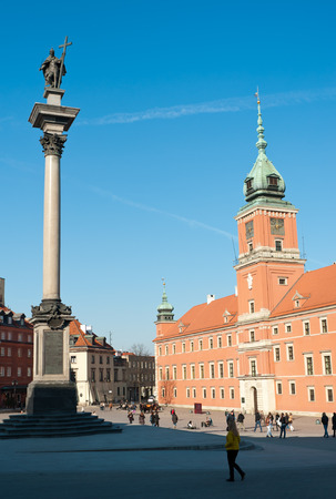 oldtown: Afternoon view on the old town of Warsaw