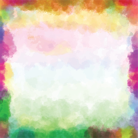 Colorful vector watercolor background paint  Vector
