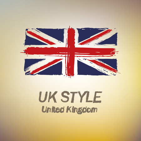 United Kingdom style and inspiration Vector - illustration Vector