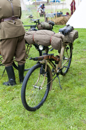 Old military bike used in the First and Second World War Editorial