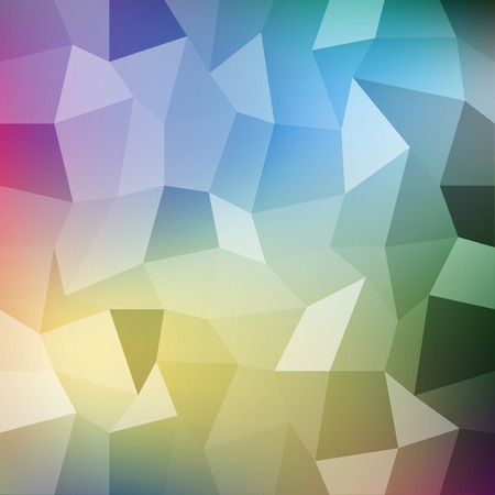 pixelate: Abstract geometric vector background for your projects Illustration