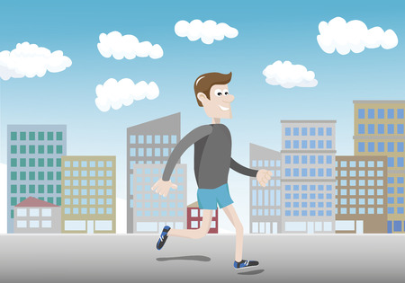 municipal: Municipal jogging is not healthy - running man