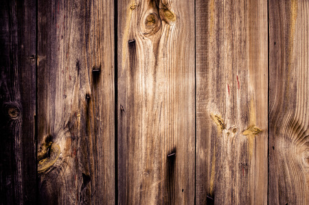 Old wooden desk background - texture Stock Photo