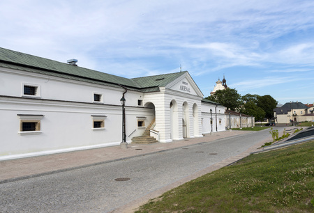 Museum Arsenal Zamosc - renovated, the modernization of the old town