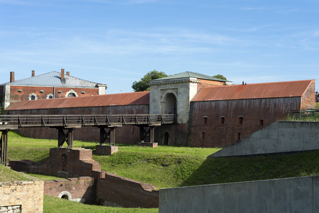Fortification Walls of the Old town in Zamosc