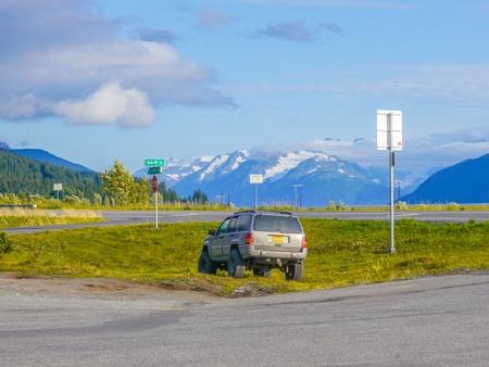 Alaska jeep