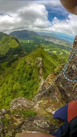 熱帯山に登る