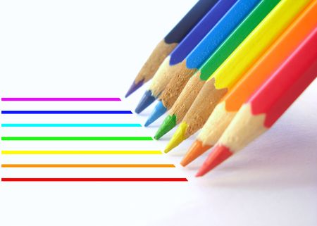 colored pencils Stock Photo - 1788402