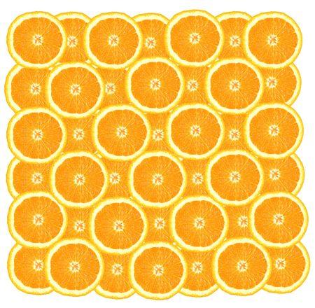 Many juicy oranges form an original background   photo