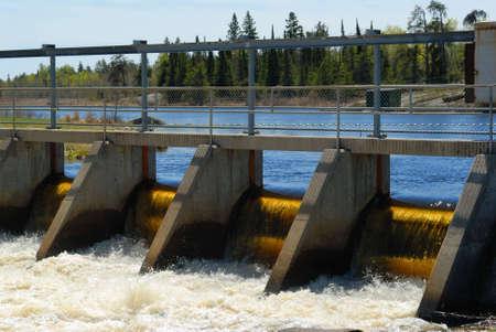 Dam in Whiteshell Provincial Park, Manitoba