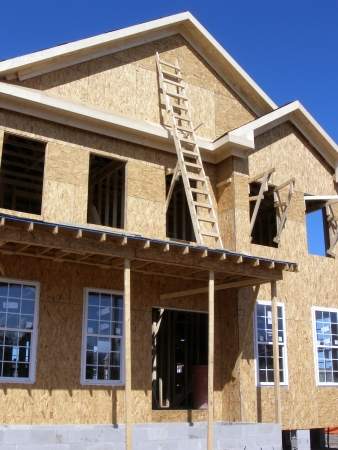 construction of a new home Stock Photo - 826912