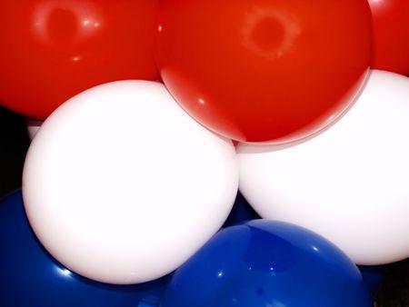 patriotic balloons photo