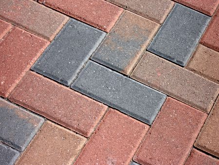 masonary: brick pattern walkway
