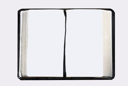 open blank page book Stock Photo - 1755955