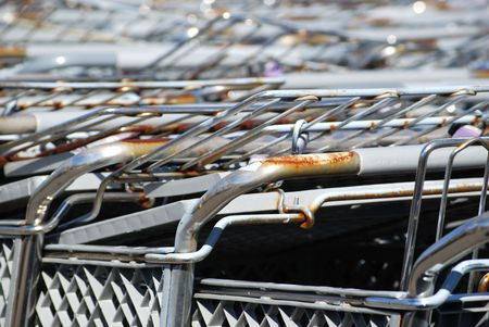 old carts Stock Photo