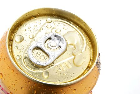 the carbonation: top of soda can