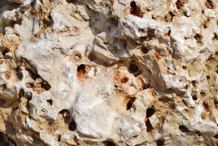 sponge rock formation
