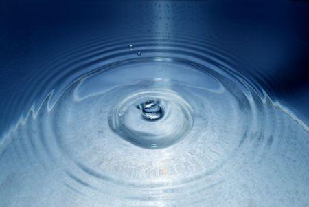 ripple effect: water drop