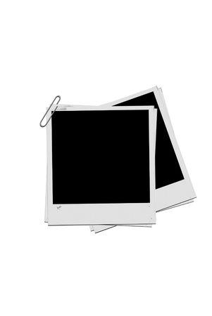 Di età compresa tra i documenti foto in bianco su fondo bianco Archivio Fotografico - 4013606