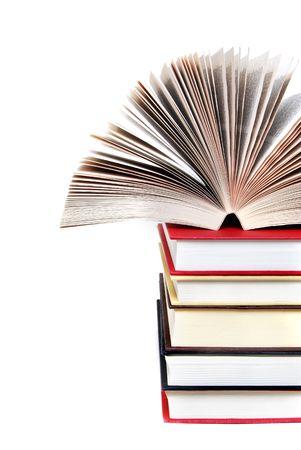 pile of books: pila di libri
