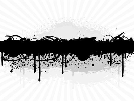 Grunge verf splatter